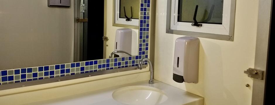 Backyard Bathrooms Portable Bathroom Shower Toilet Hire - Portable bathroom with shower